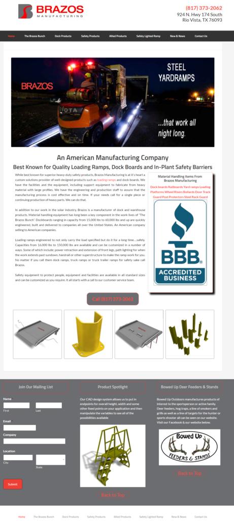Brazos Manufacturing